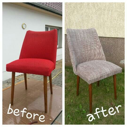 New outfit for an old school cocktail chair