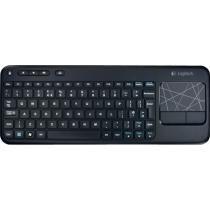 Logitech - K400 Wireless Keyboard - Black