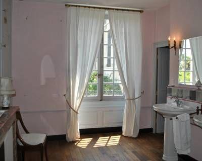 Le Ragois chambres d\u0027hôtes à Richelieu le salle de bain de la