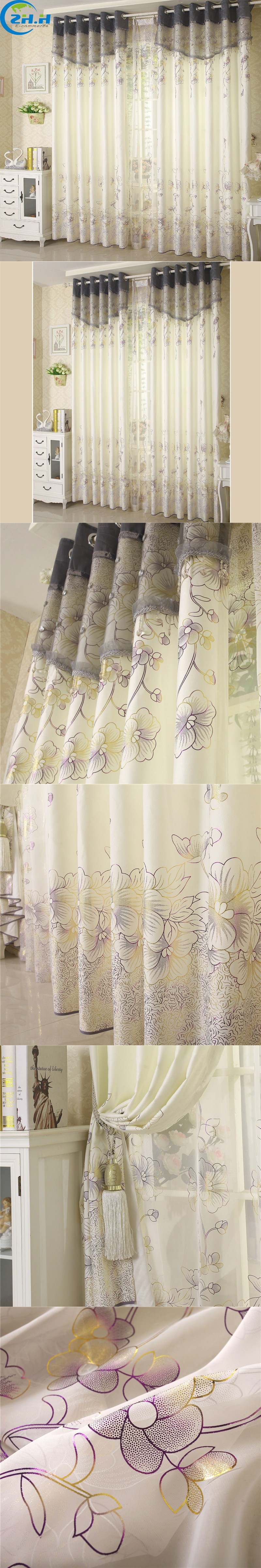 Europe High-Grade White Shading Curtain For Living Room/Bedroom ...