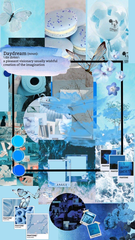 Background Aesthetic Blue