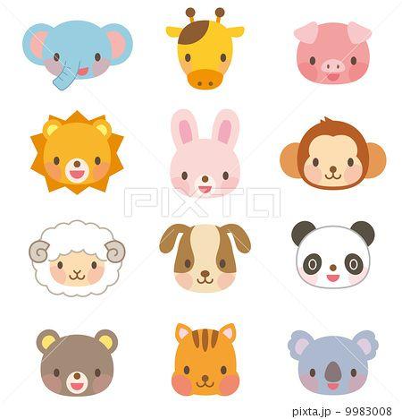動物 イラスト セット Cute Animals Cute Animal Illustration Animal Illustration