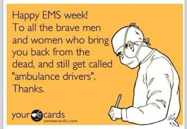 "I LOVE THIS!!! Even more I love being called ""ambulance driver."" Yup uh huh that's my favorite!!"