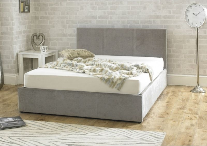 Emporia Beds Stirling Stone Fabric Ottoman Bed Frame All Things