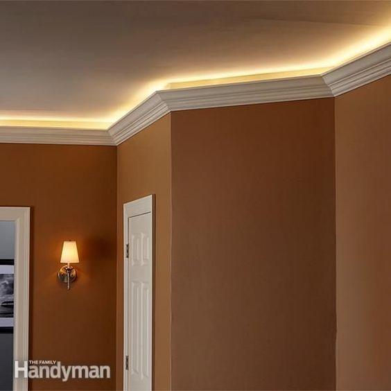 How To Install Elegant Cove Lighting Bedroom Lighting Diy Cove Lighting Ceiling Light Design