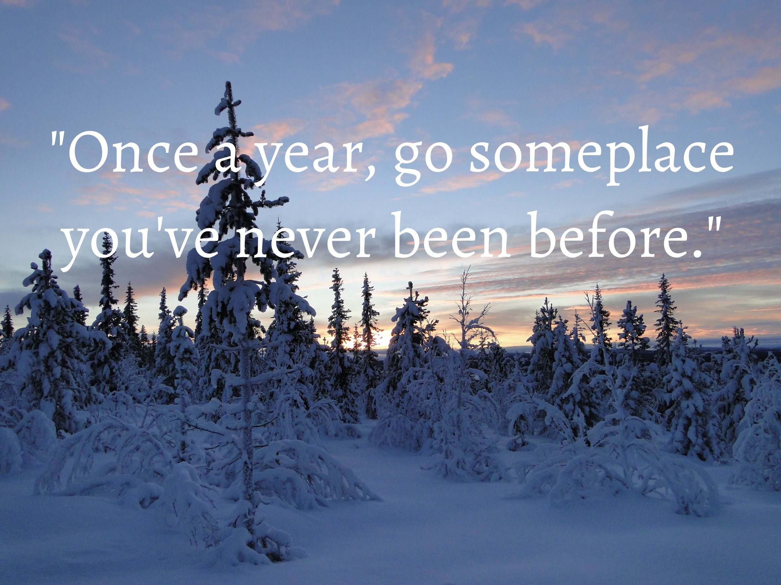 """Once a year, go someplace you've never been before"" This quote is ringing true in our hearts today more than ever. To travel is to live, to open our eyes, gain perspective, be inspired by new surroundings, culture, people and food. Traveling gives us new experiences and moments to remember. Where are you going this year?"