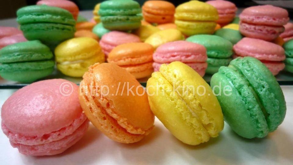 Französische Macarons
