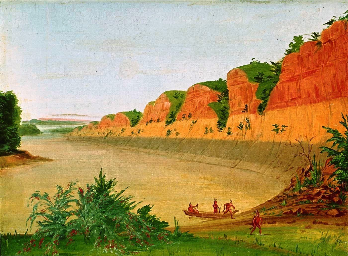 South Side of Buffalo Island | art | American art, American