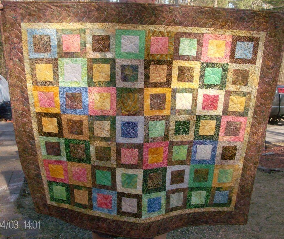 handmade quilts for sale | Beautiful Batik Lap Quilt for sale by ... : handmade christmas quilts - Adamdwight.com