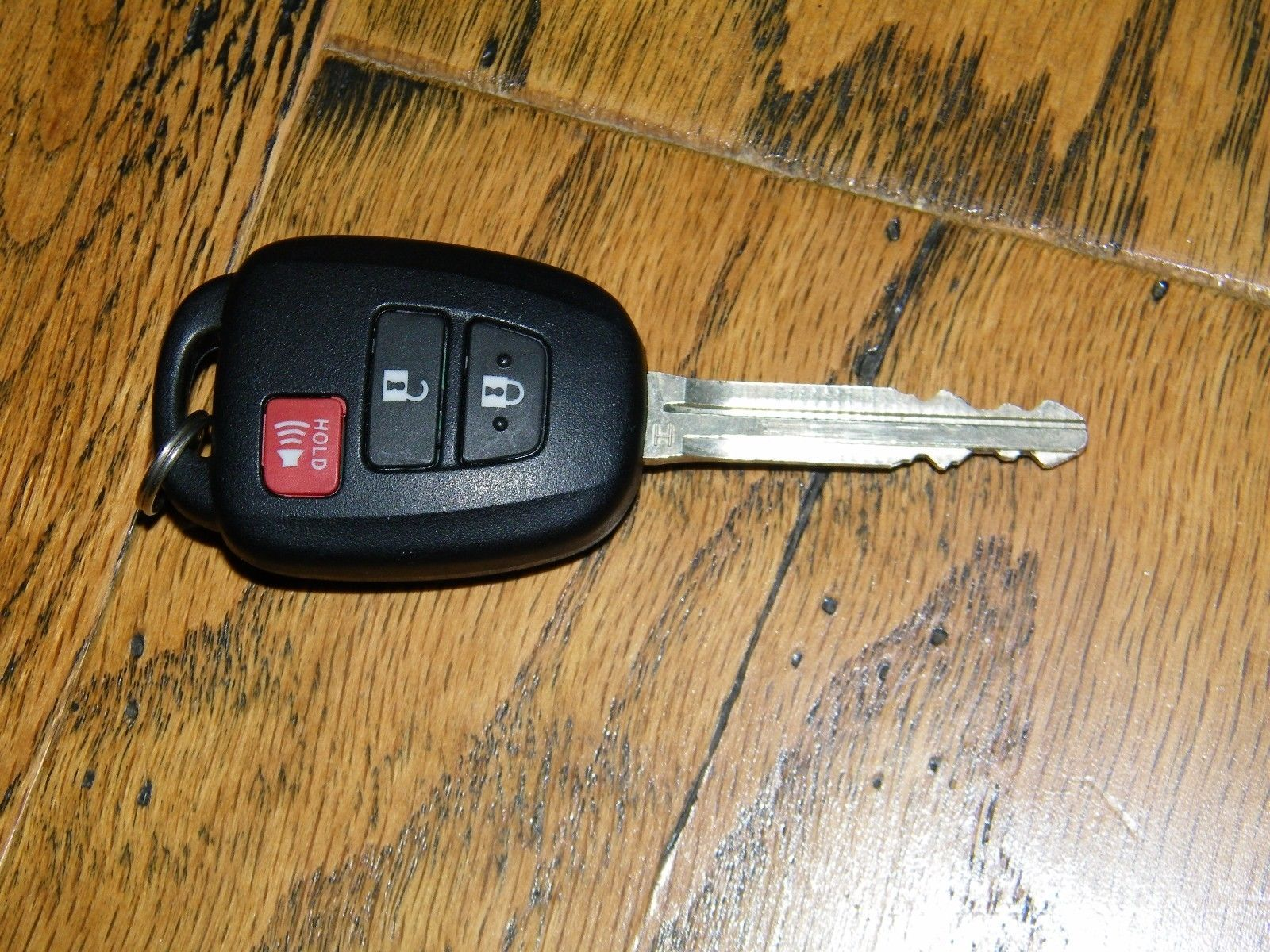 How to ○ Toyota Key Fob Remote Keyless Battery Change Replace