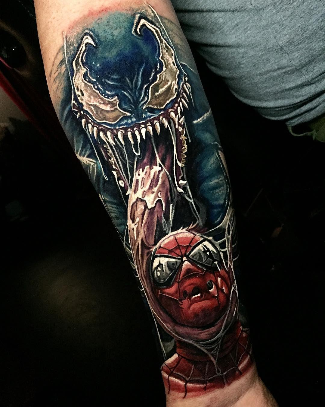cee72a7e5 New Zealand. Stevebutchertattoos@gmail.com for appointments. Spiderman  Tattoo, World Tattoo