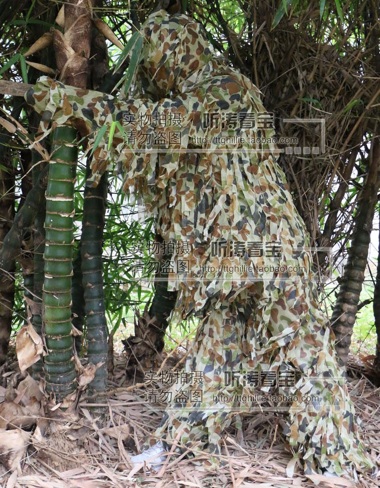 ... from China airsoft sniper Suppliers Leaf Army Camo Yowie Ghillie Suit Airsoft Sniper Tactical Hunting Suit/Hunting Tent/Hunting Blind Breathable & 3D Leaf #Army_Camo_Yowie_Ghillie_suit airsoft Sniper Tactical ...