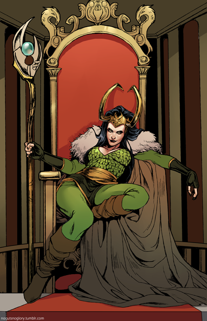 Lady Loki is the head bitch. <3