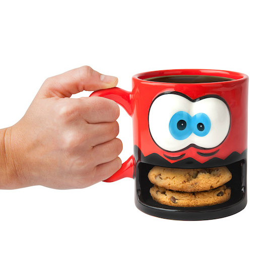 BIGMOUTH, INC. CRAZY FOR COOKIES COFFEE MUG - Carrying your cookies and drink…