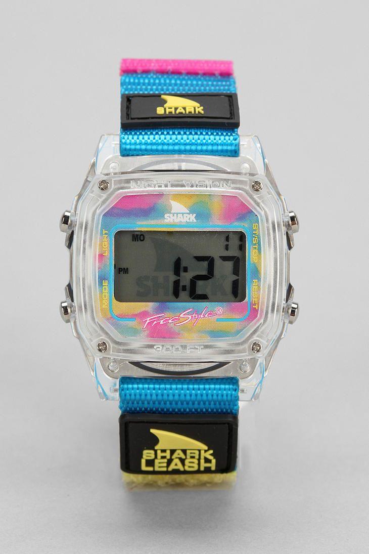 fc7c50dc99f Freestyle Shark Leash Reissue Watch Relógios Legais