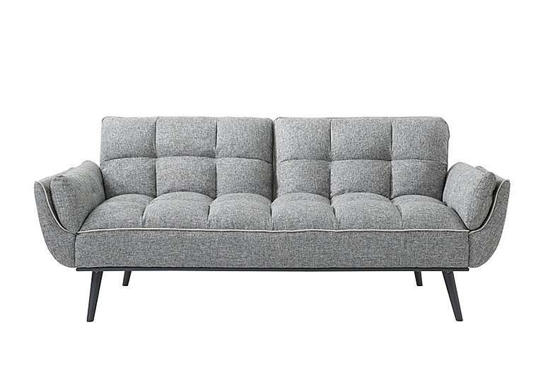Fabulously Stylish Modern Sofa Bed With Cushioned, Panelled, Buttoned Back  And Tapered Metal Legs. Easy U0027click Clacku0027 Action Transforms The Sofa Into  A ...