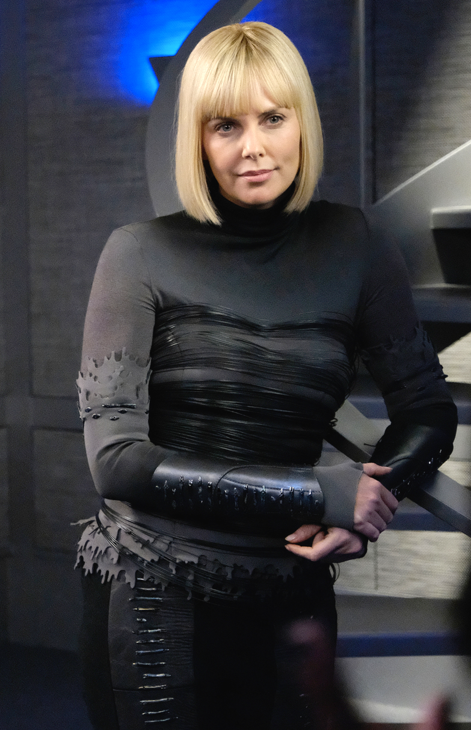 The Orville Ep. 105 Pria, Charlize Theron, Neoprene laser cut top ...