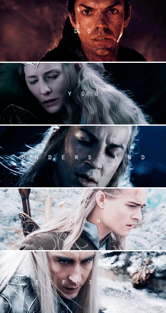 Poor little elves.. I don't like them all being sad and surrounded by death