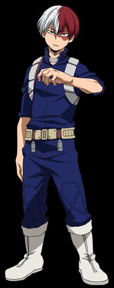 Shoto Todoroki Hero Costumes My Hero Academia Episodes My Hero