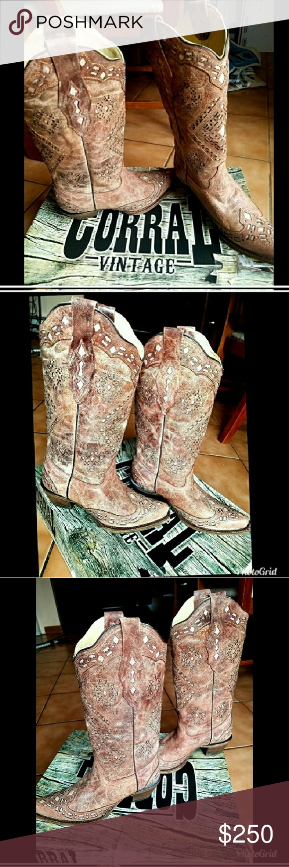 I just added this listing on Poshmark: Corral country style boots/ brand new Sz.7. #shopmycloset #poshmark #fashion #shopping #style #forsale #Corral #Shoes