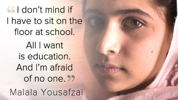 I Am Malala Quotes I Am Malala  Guide