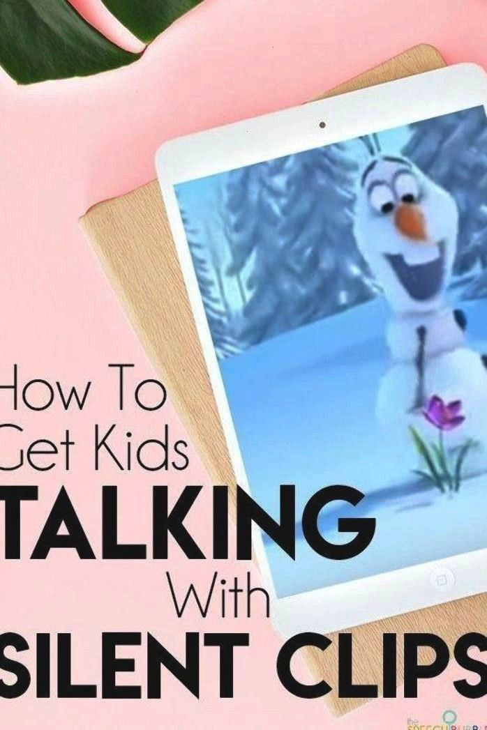 your students to talk in your speech therapy lessons?  Try using silent video clips!!  This blog ha