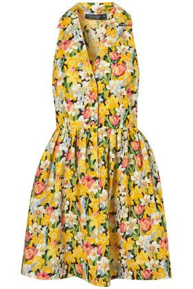 why are you not mine, spring daffodil shirtdress?