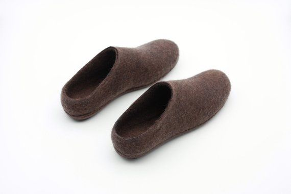 2a93477975a9d LUCIELALUNE spring women's mules barefoot shoes handmade felted ...