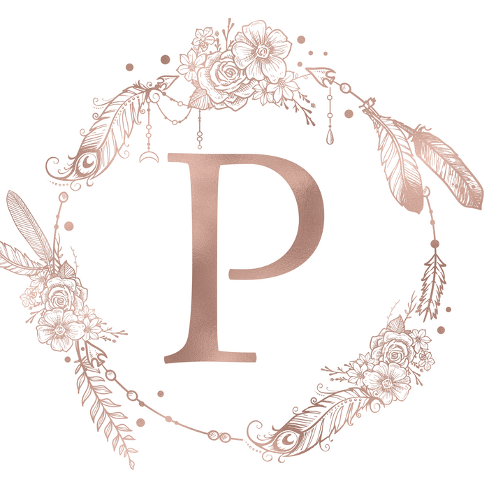 Letter P Rose Gold Pink Initial Monogram King Size Pillow Sham By Nature Magick Standard Set Of 2 In 2021 Monogram Pillows Monogram Pillow Shams Rose Gold Pink