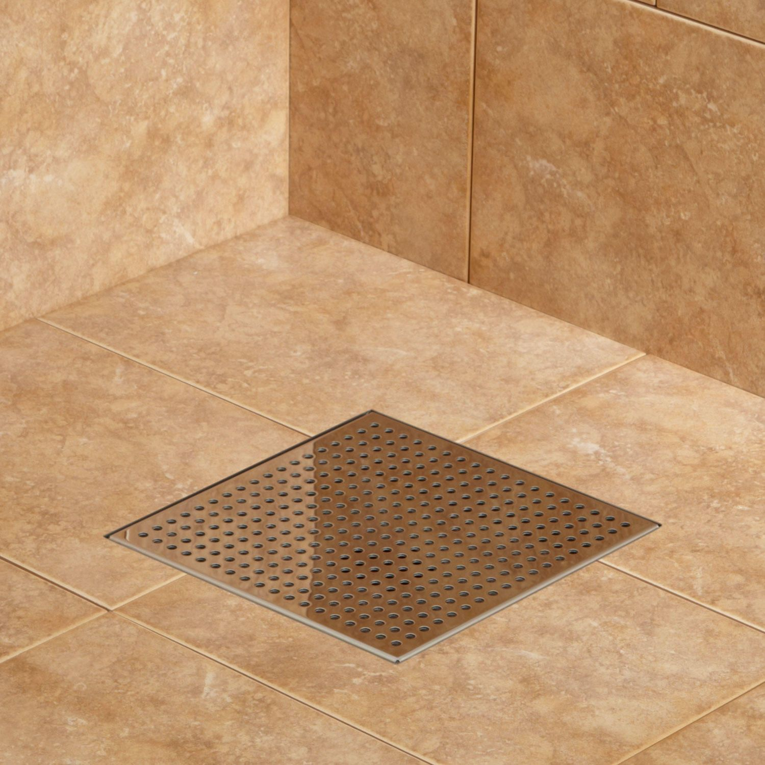 Werner Square Shower Drain | Stainless, Squares and Drain