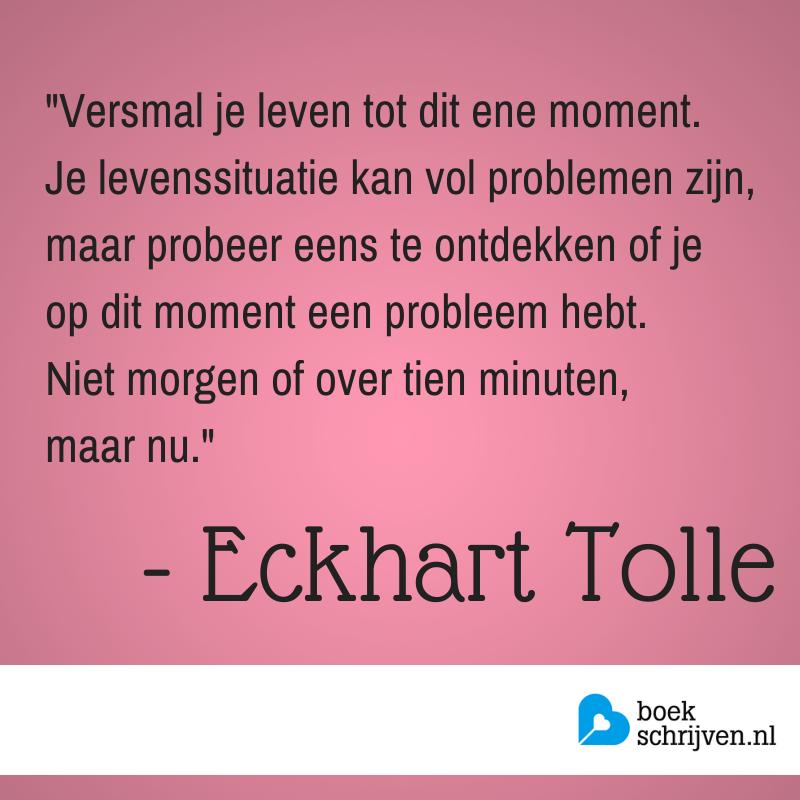 Zet je gedachten regelmatig op papier, om door evt. zorgen heen te werken en de rust te vinden om verder aan je verhaal te schrijven. Meer schrijftips: www.boekschrijven.nl