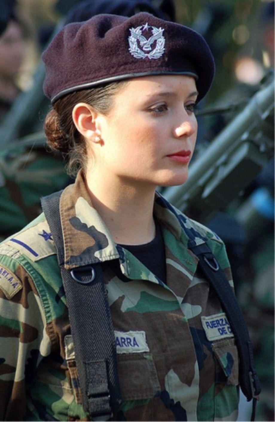 Beautiful women in Uniform from Around the World