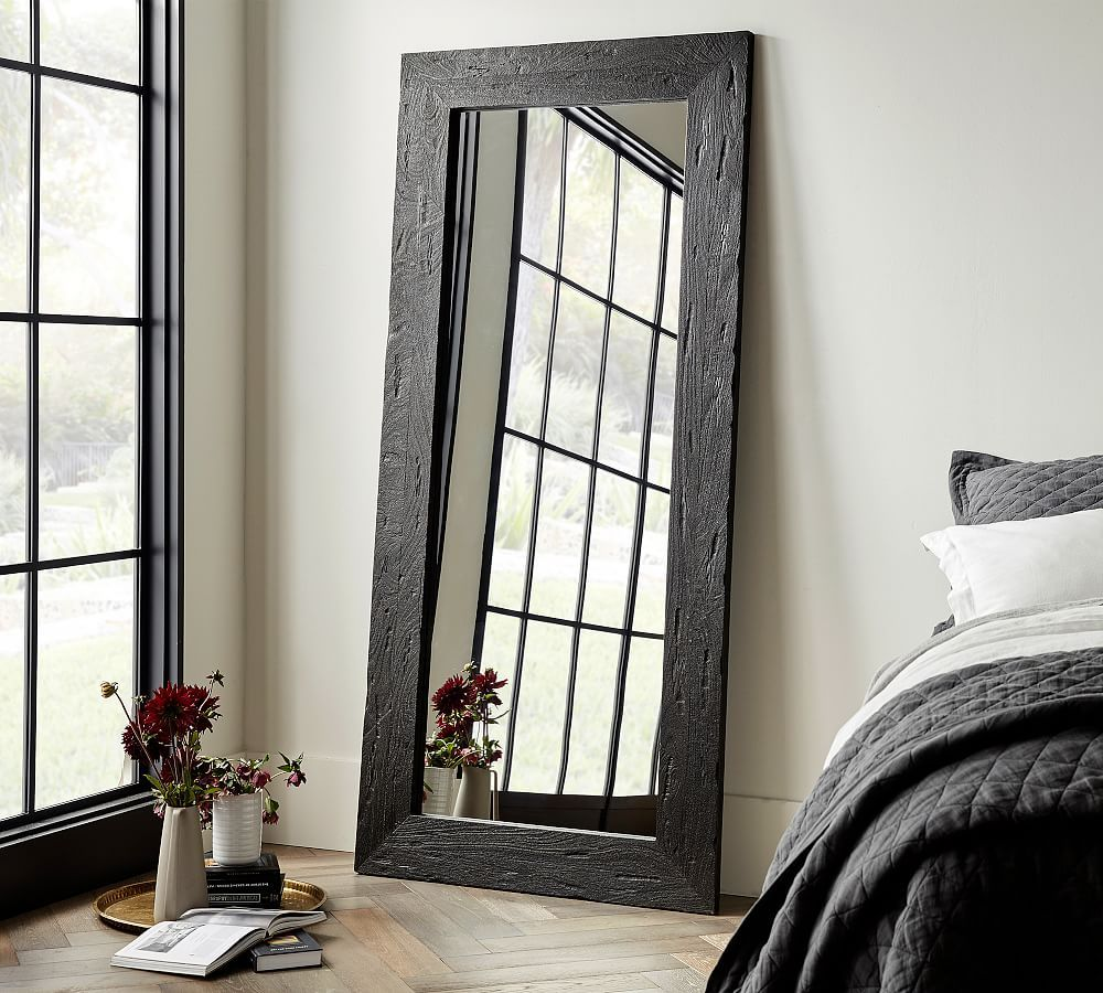 "Bozeman Floor Mirror, Wood, 38"" X 82"" X 1.5"""