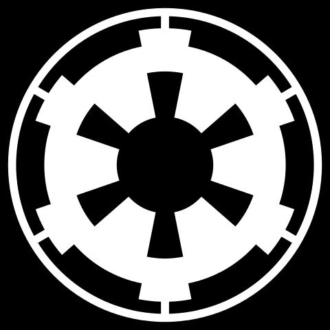 Star Wars Galactic Empire Logo Symbol Vinyl Decal Sticker Car Window Bumper Star Wars Symbols Star Wars Decal Star Wars Art