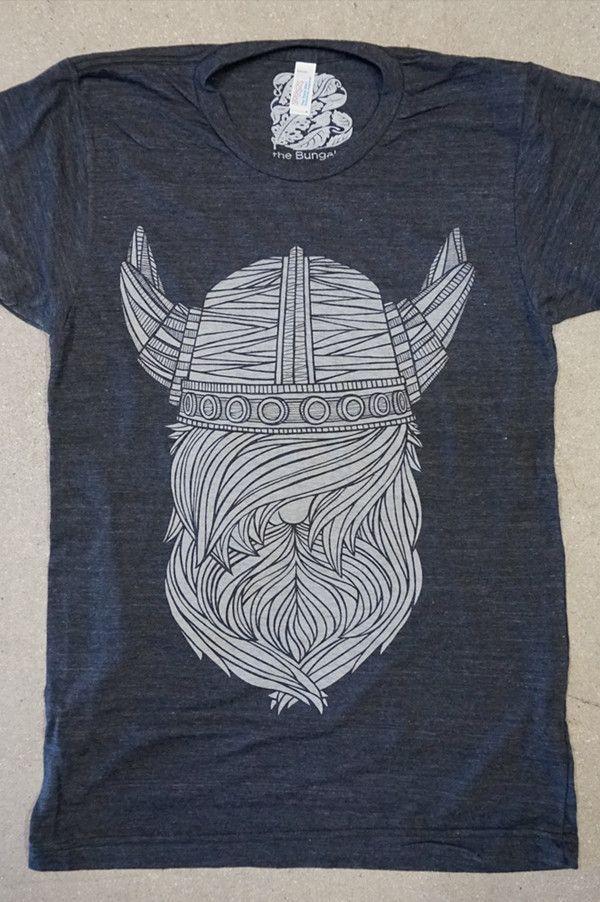 Asphalt Viking Beard T Shirt