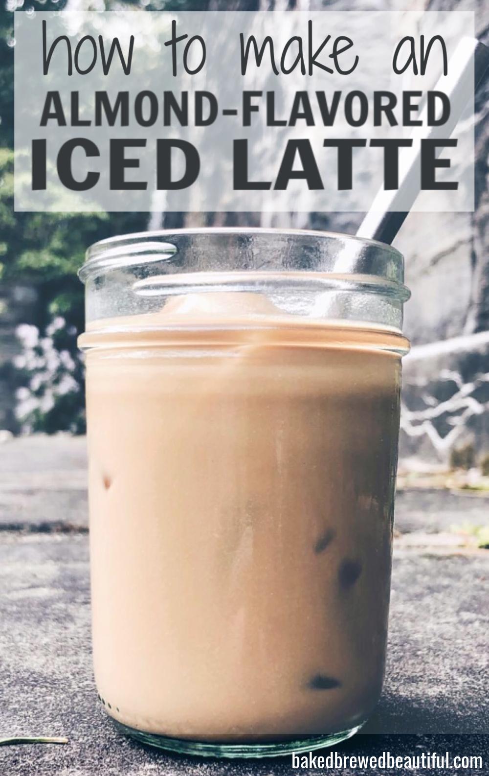 Best Almond Essence Iced Latte Recipe Recipe Iced Latte Coffee Diy Recipes Latte Recipe