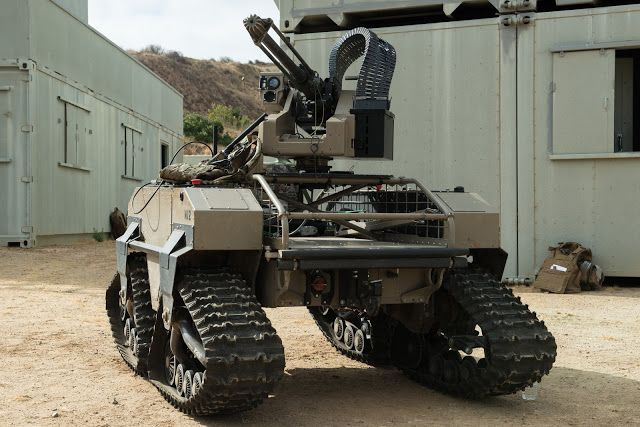 SNAFU!: The Dallas PD robot was good...the USMC's will be better. Photos by Lance Cpl. Julien Rodarte