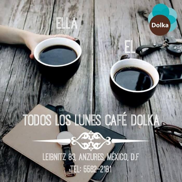 Todos los #Lunes son de #café #Dolka #Foodies
