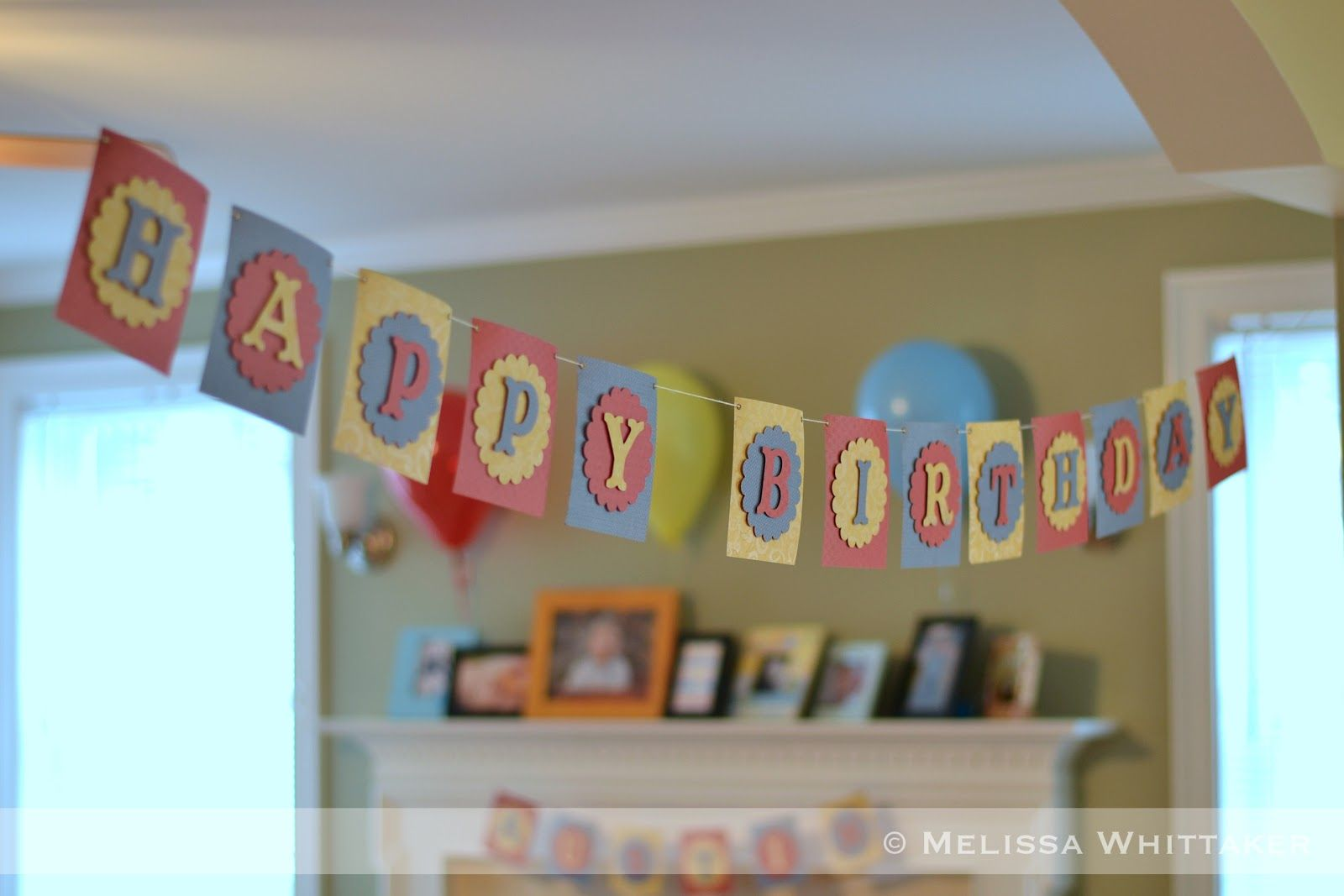 Free printable happy birthday banner banners pinterest happy
