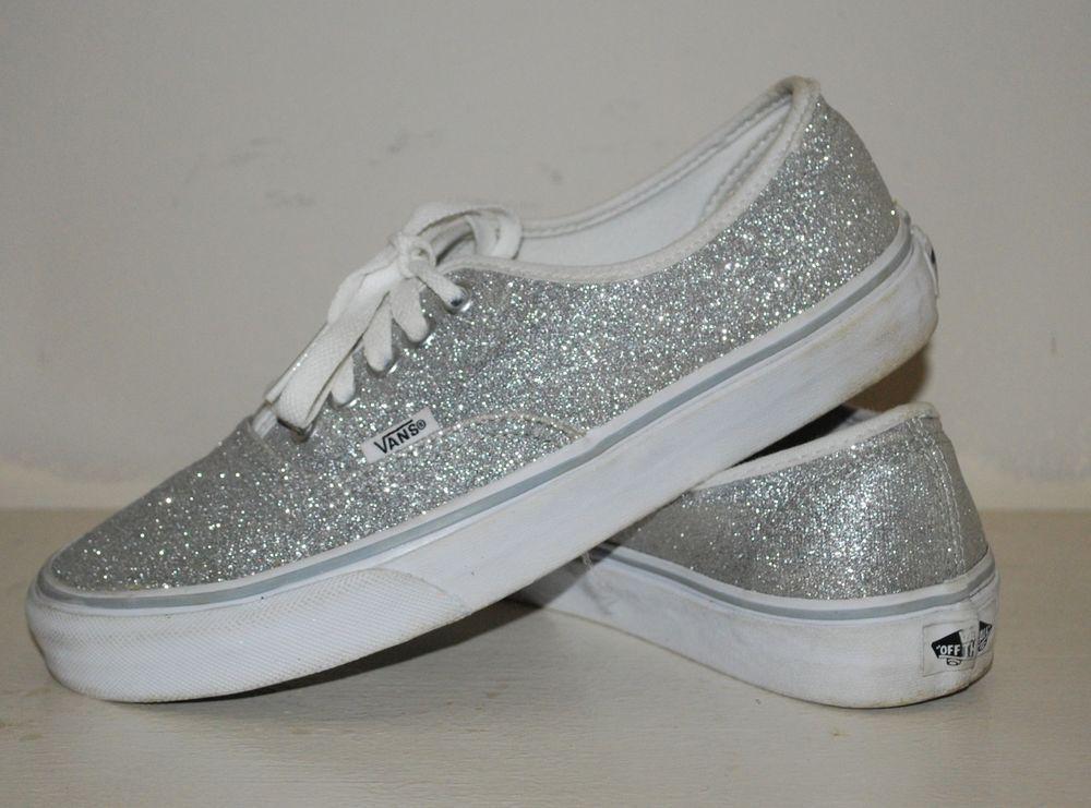 Get - silver sparkle vans womens - OFF