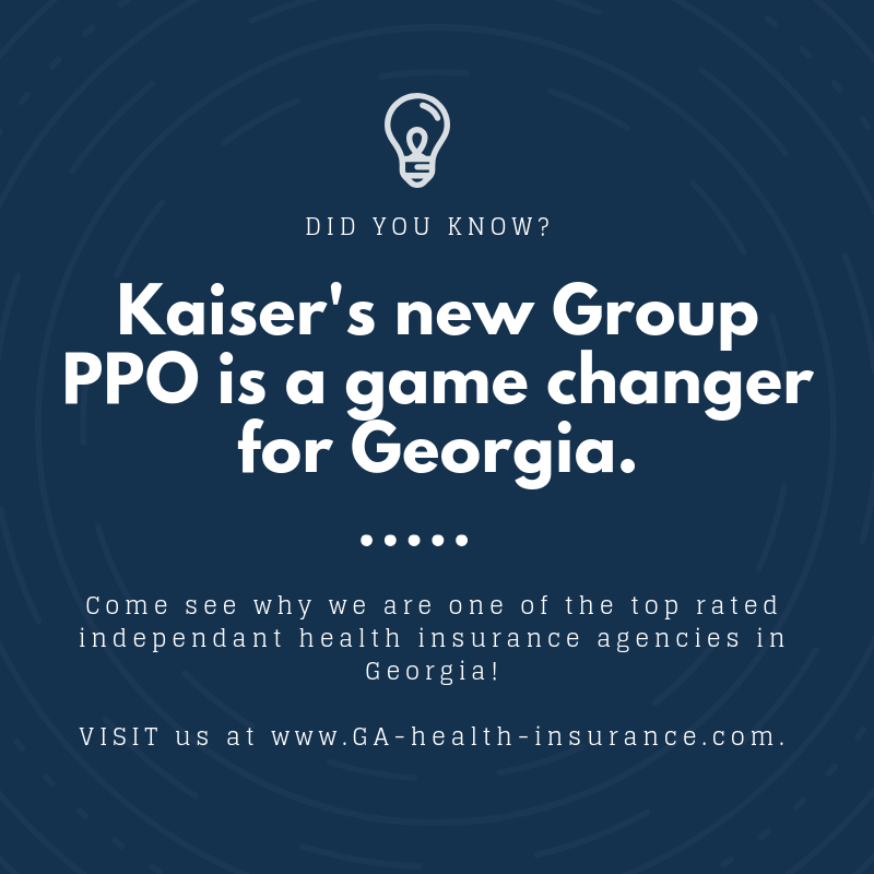 Kaiser Permanente Set To Launch A Group Ppo Plan In Georgia For