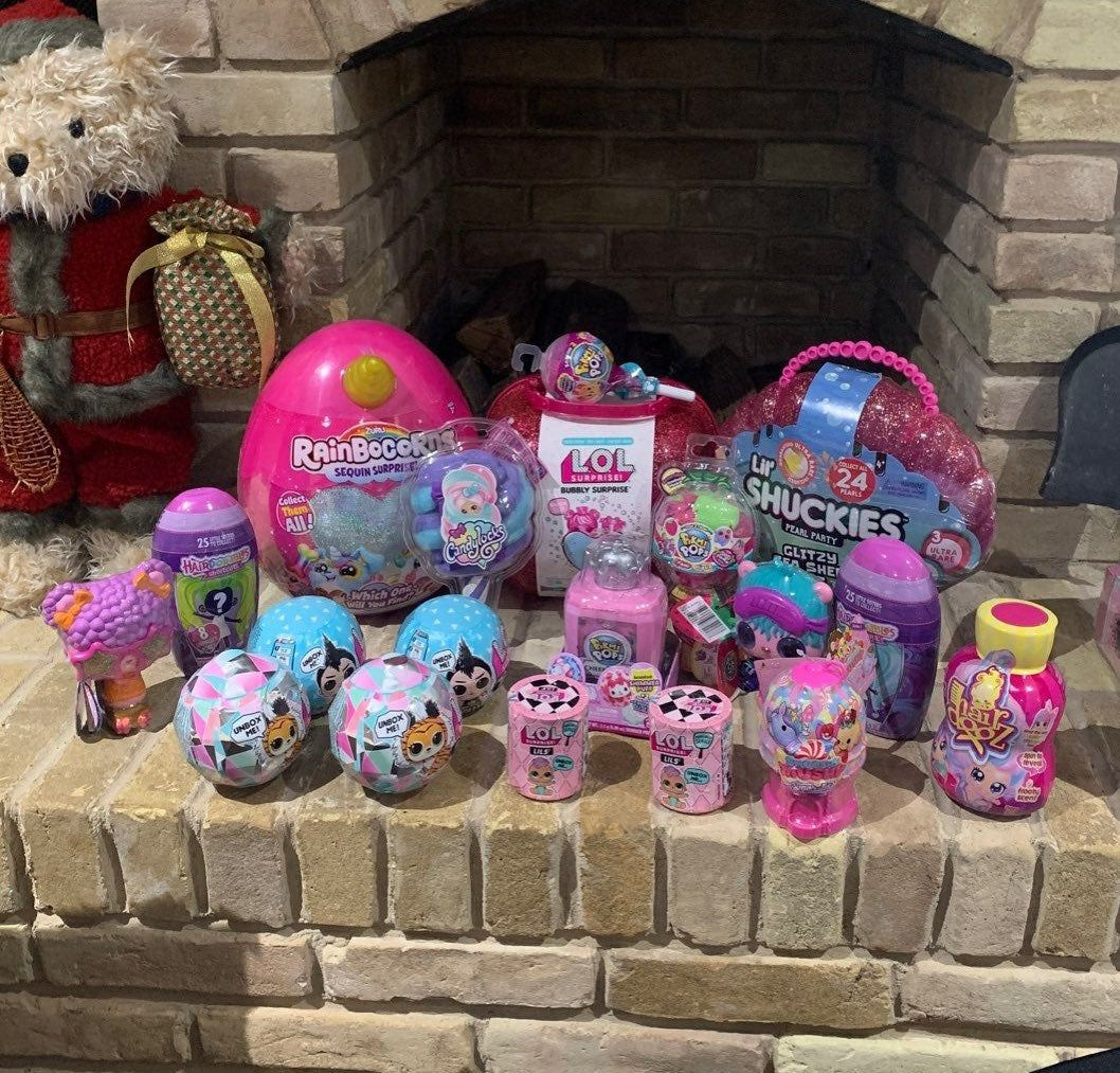 Brand New Girls Toy Lot Rainbocorns 2 Lol Surprise Boy Doll 2 Lol Surprise Fluffy Pets 2 Hairdorables Shortcut Do New Girl Toys Fluffy Animals Toys For Girls