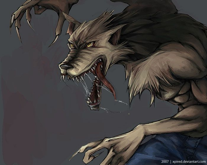 werewolf 狼男