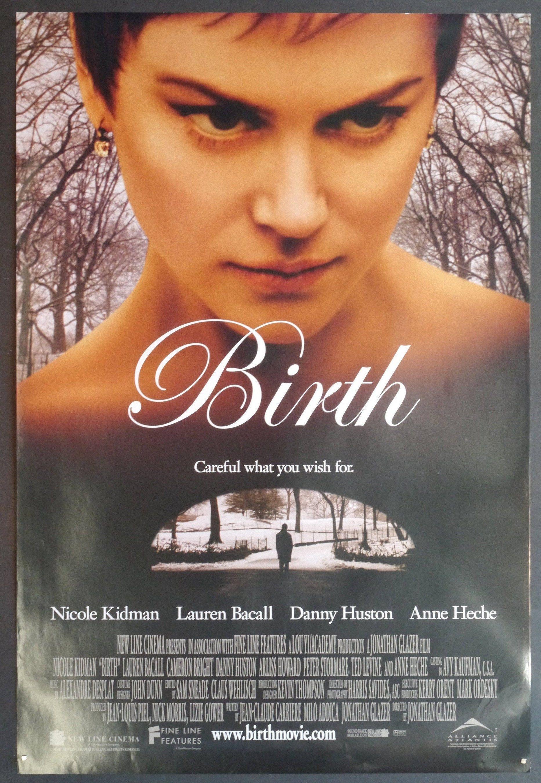 Birth An Original Movie Poster For Jonathan Glazers Creepy Psychological Thriller With Nicole Kidman Danny Huston An In 2021 Danny Huston Lauren Bacall Nicole Kidman