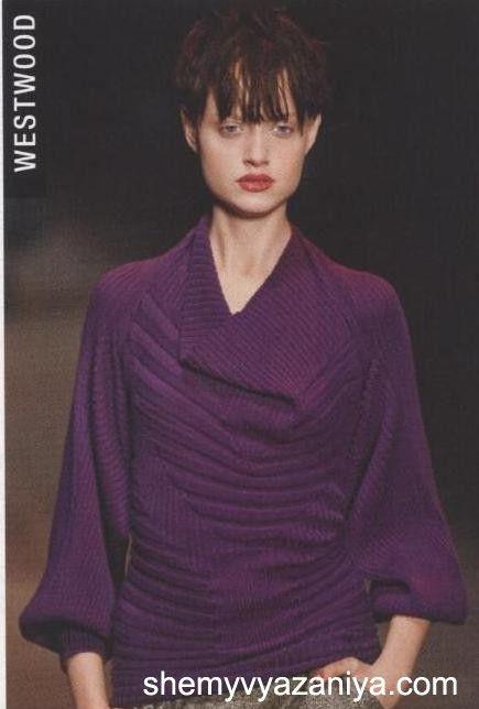 Дизайнерский пуловер спицами. Обсуждение на LiveInternet - Российский Сервис Онлайн-Дневников