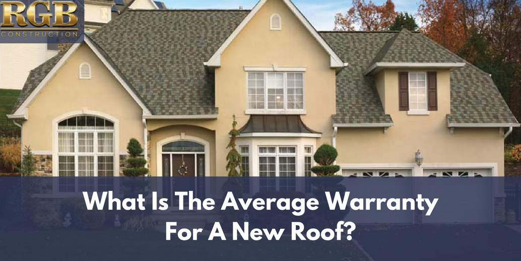 What Is The Average Warranty For A New Roof With Images Roof Warranty House Styles