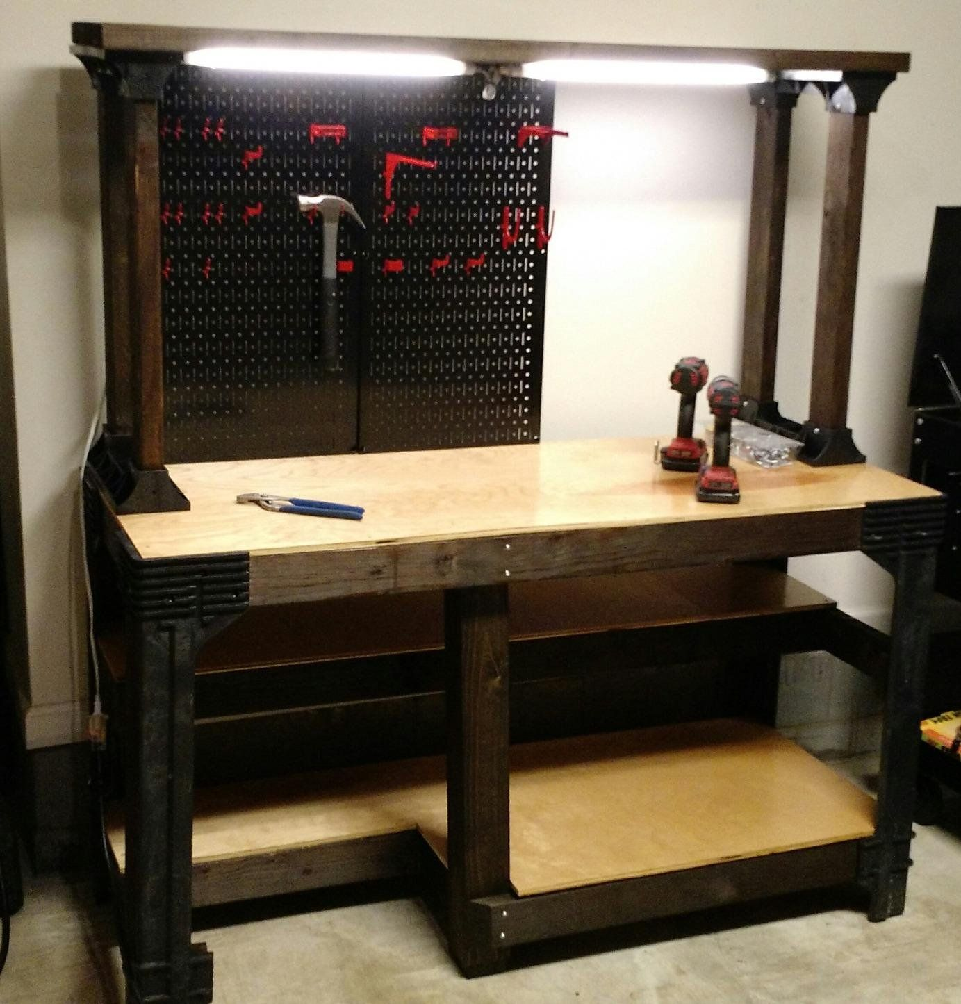 Garage Workbench and Storage Systems