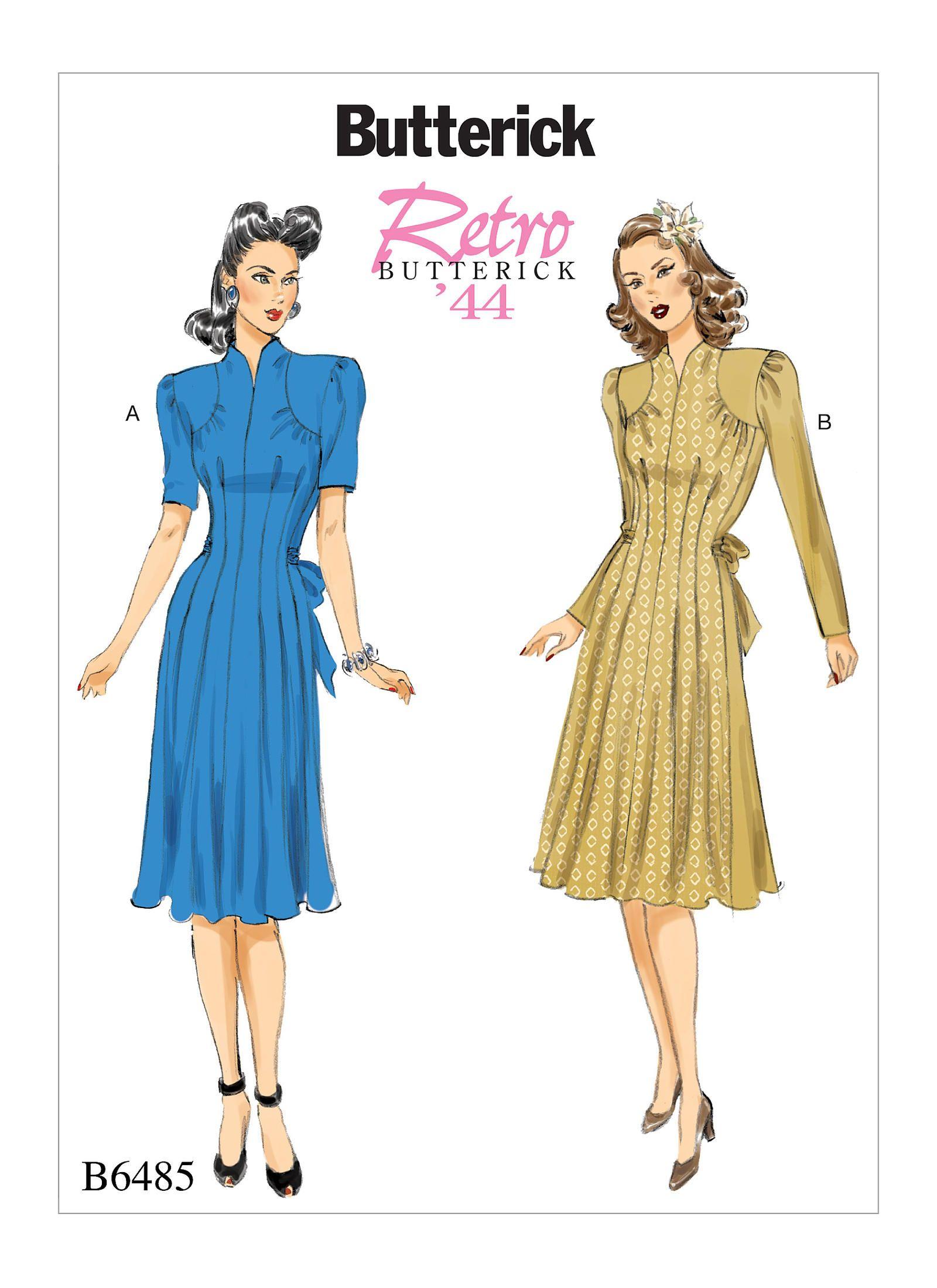 B6485 | Butterick Patterns | Sale: $2.49 SALE NOW THRU 7/12 - Sewing ...