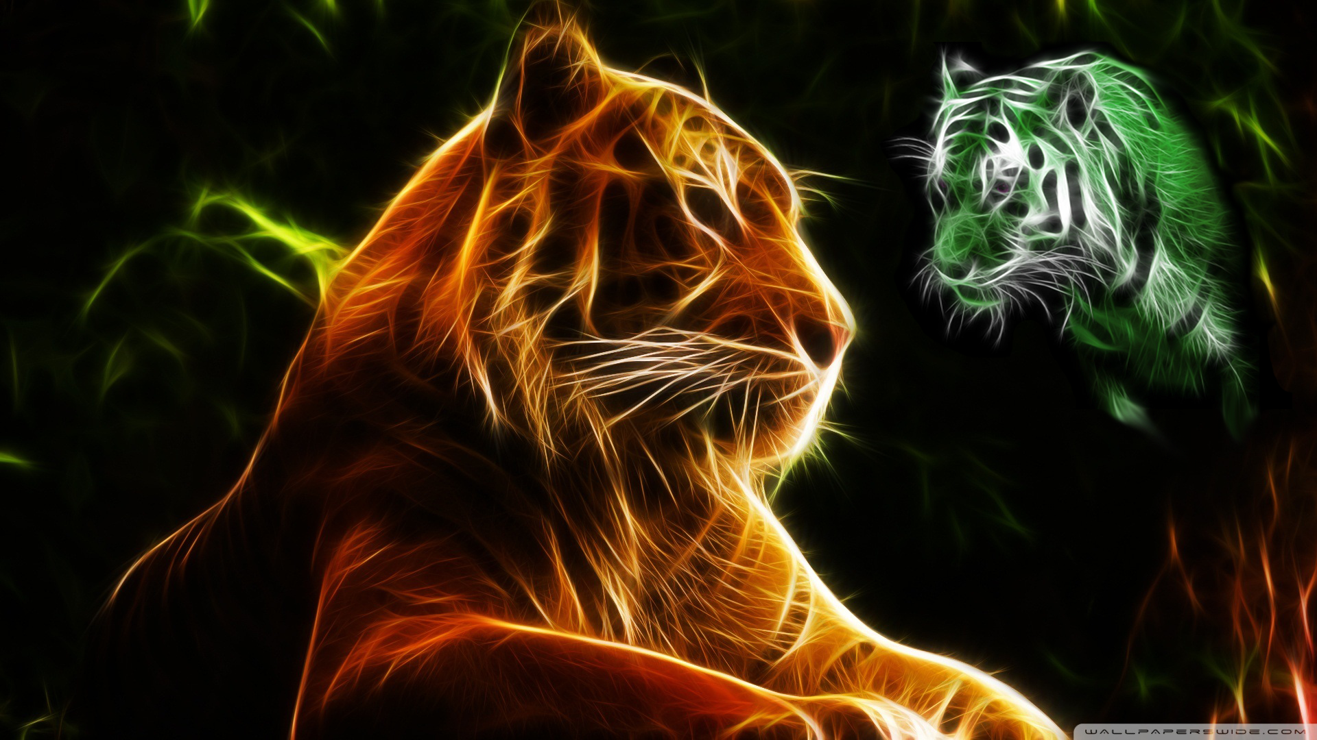 I WANT TO PAINT THIS! Tiger wallpaper, Cute tigers