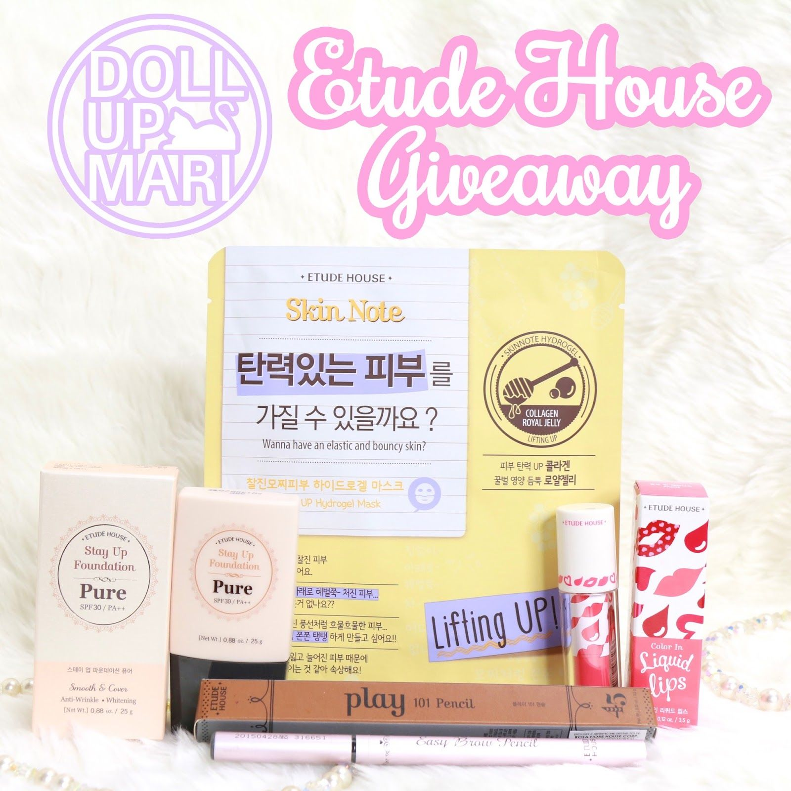 Etude House 500k Facebook Giveaway As My Way Of Saying Thanks For Itunes Add Funds 500 Thousand Page Views